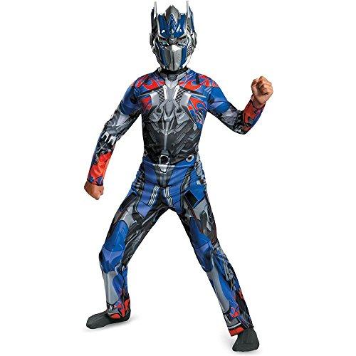 Disguise Transformers Extinction Optimus Costume