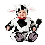 XXOO Toddler Baby Infant Dots Cow Halloween Dress Up Costume Outfit