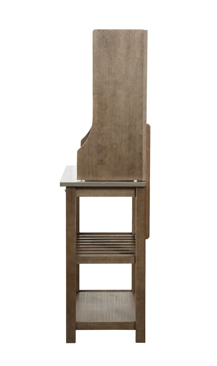 Boraam 12509 Wood & Stainless Steel Bakers Rack, One Size by Boraam (Image #3)