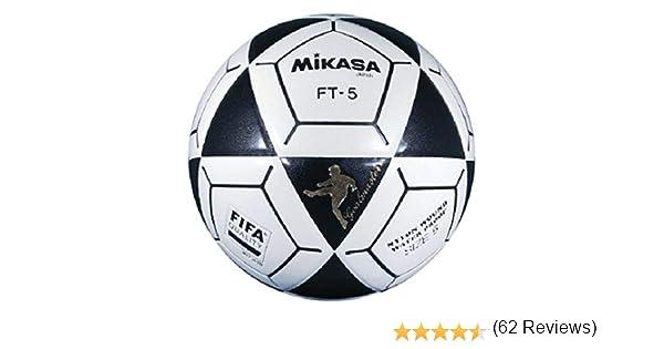 Mikasa FT5 Meta Maestro Pelota de fútbol (tamaño 5), Color Negro ...