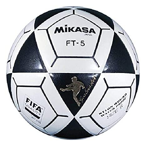Amazon.com   Mikasa FT5 Goal Master Soccer Ball (Black White 27f0ce567407f