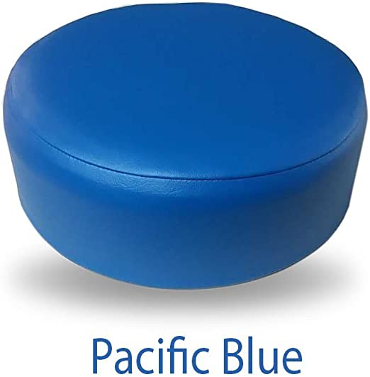 """New Skid Resistant 17/"""" x 18/"""" Universal Toilet Lid Cover in Navy Blue By Cannon"""