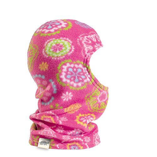 Turtle Fur Kids Single-Layer Playful Prints Fleece Classic Balaclava, Lily