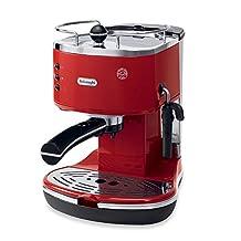 De'Longhi Pump ECO310 Icona Espresso Maker (Red)