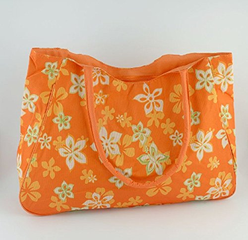 Tasche Floral Print - orange