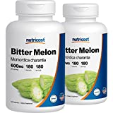 Nutricost Bitter Melon 600mg, 180 Capsules (2 Bottles) Review
