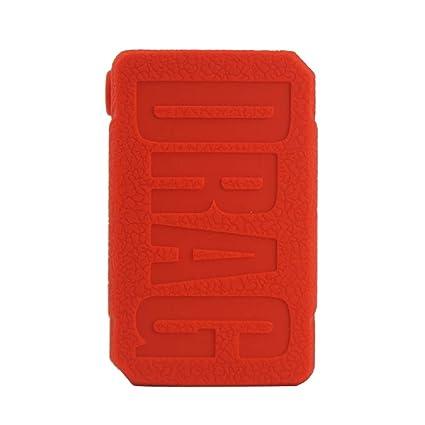 CEOKS for Voopoo Drag Mini 117W Silicone Case, Anti-Slip Protective  Silicone Case Skin Rubber Cover for Voopoo Drag Mini TC Mod Box Rubber case  wrap