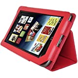 AGPtek® New Stand Cover Case for Barnes and Noble Nook Color Nook Tablet- Red Color