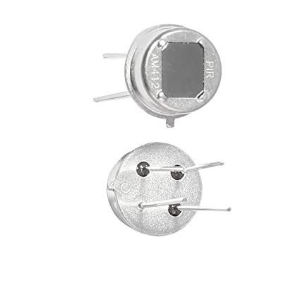 Aexit 2 Pcs Semiconductor Products 4 Pin Pyroelectric PIR IR Sensor Human Body Microprocessors Infrared Detector - - Amazon.com