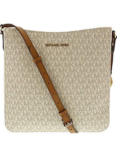 241fc39ae3 Michael Kors Women s Jet Set Travel Large Messenger Bag - Vanilla Acorn