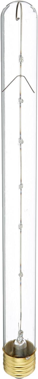 Bulbrite Incandescent T8 Medium Screw Base (E26) Light Bulb, 40 Watt, Clear