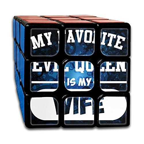 Price comparison product image My Favorite Eveil Queen Is My Wife Hot Sale 3x3 Cube Hands Toy Bearing Toy Decompression Gyro And Autism Adults & Children For Killing Time Or Relaxation
