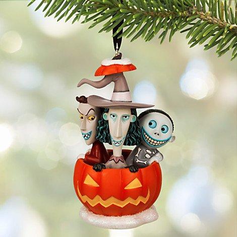Disneys the Nightmare Before Christmas. Lock, Shock & Barrel Sketchbook Ornament.]()