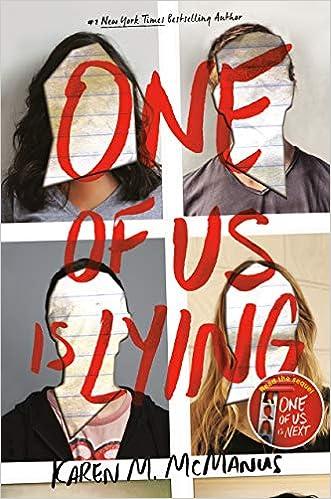 Amazon.com: One of Us Is Lying (9781524714680): McManus, Karen M ...