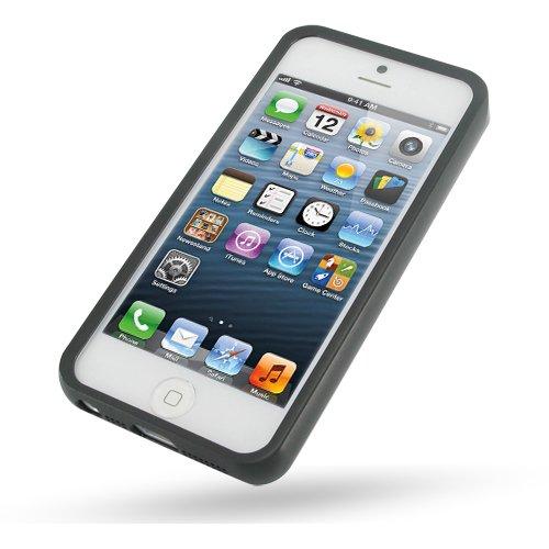 iPhone5 Metal Bumper Frame (Black) (Pdair Black Aluminum Metal)