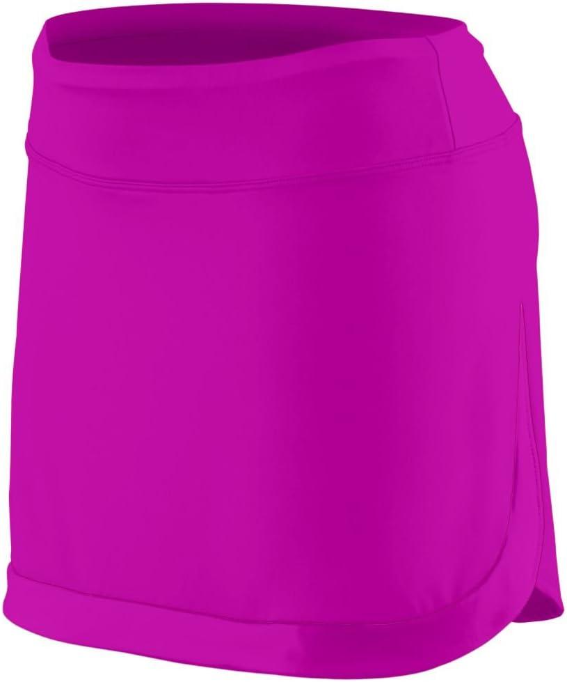 Augusta Sportswear Women'S Action Color Block Skort 2Xl Power Pink/Power Pink