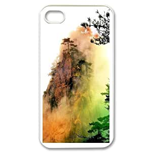 Custom Case The scenery of Mount Huangshan For iPhone 4,4S Q3V693367