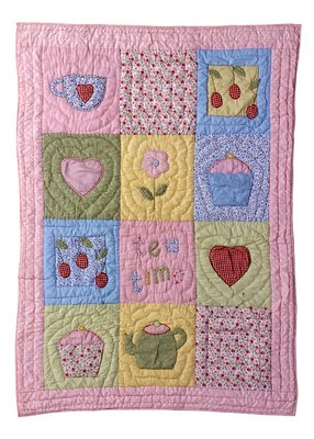 Amazon.com: Tea Time Baby Quilt: Home & Kitchen : tea time quilting - Adamdwight.com