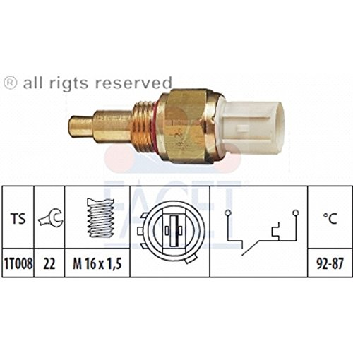 Facet 7.5138 Temperature Switch, radiator fan:
