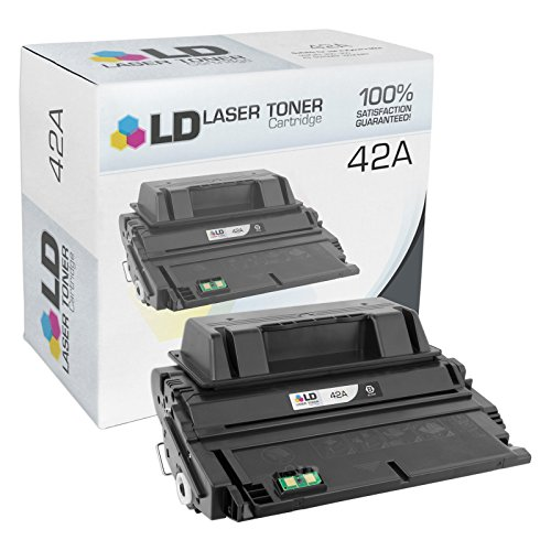 LD © Compatible Replacement for HP 42A / Q5942A Black Laser Toner Cartridge for LaserJet 4250tn, 4250, 4350dtn, 4350n, 4240n, 4250dtnsl, 4350, 4350dtnsl, 4240, 4250dtn, 4350tn, 4250n