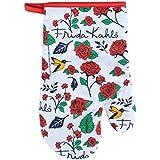 Luva Algodão Frida Kahlo Birds & Flowers Urban Branco 18x3x29 cm Algodão