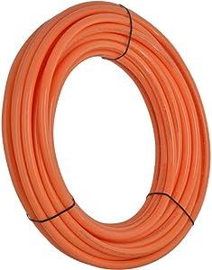 SharkBite U870O300 Oxygen Barrier PEX Pipe 3/4 Inch, Orange Heat Radi