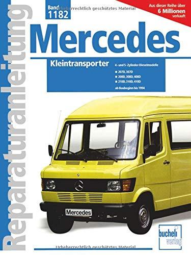 Mercedes-Benz Kleintransporter ab Baubeginn bis 1994: 4- u. 5-Zyl.Dieselmodelle / 207D, 307D, 208D, 308D, 408D, 210D, 410D