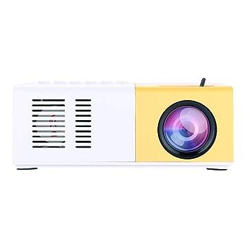 Tonysa Mini Proyector LED 1500 Lúmenes 1080P, Video Proyector ...