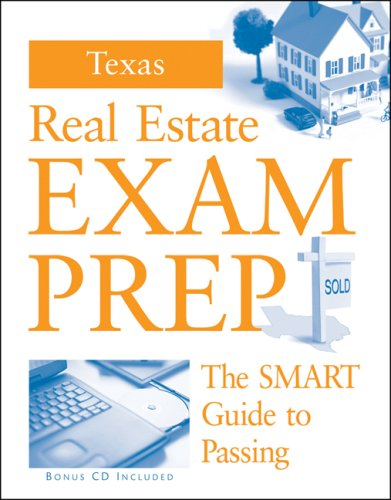 Texas Real Estate Exam Preparation Guide (w/ CD) (Best Real Estate School In Texas)