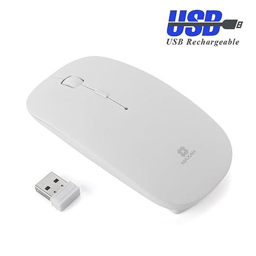 7 opinioni per Mouse ottico senza fili del mouse MAXAH 2.4GHZ mouse senza fili ultra-sottile