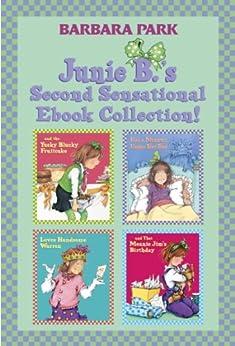 junie b 39 s second sensational ebook collection books 5 8 junie b jones box set 2 kindle. Black Bedroom Furniture Sets. Home Design Ideas