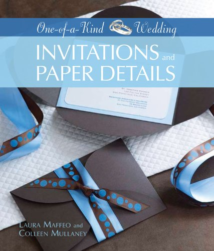Invitations and Paper Details (One-of-a-Kind Weddings)