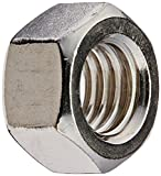 The Hillman Group 829308 1/2 by 13-Inch Stainless Steel Finish Hex Nut, 50-Pack