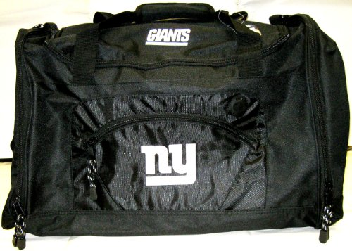 NFL New York Giants Roadblock Duffel Bag, Black by Northwest