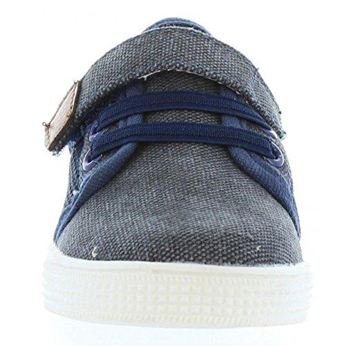 Chaussures pour Garçon URBAN 334023-B1080 NAVY-NATURAL