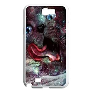Galaxy Hipster Cat Unique Design Cover Case for Samsung Galaxy Note 2 N7100,custom case cover ygtg550649 by icecream design