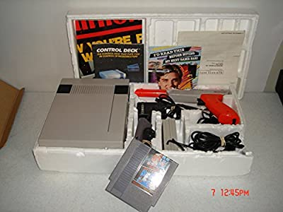 Nintendo Entertainment System Action Set (Includes 2 Controllers / Zapper / Super Mario Bros. / Duck Hunt)