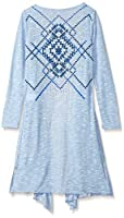 Beautees Girls' 2 Piece Duster with Feat...
