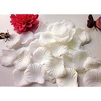 CHSYOO 1000 x Artificiales Flores Pétalo Rosas Confeti