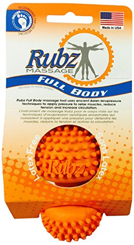Due North Foot Rubz Full Body Massage Tool, 2 pack