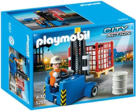 PLAYMOBIL Forklift Playset