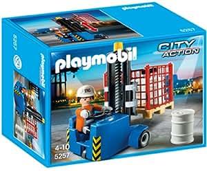 Playmobil - Carretilla elevadora (5257)