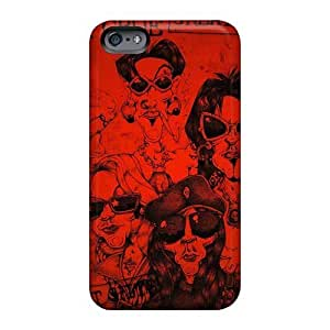 Protector Hard Phone Cover For Apple Iphone 6plus With Custom Realistic Motley Crue Band Series ElijahFenn