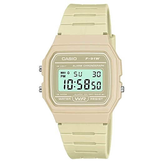 9887d0f93e67 Reloj Casio para Hombre F-91WC-8AEF  Amazon.es  Relojes