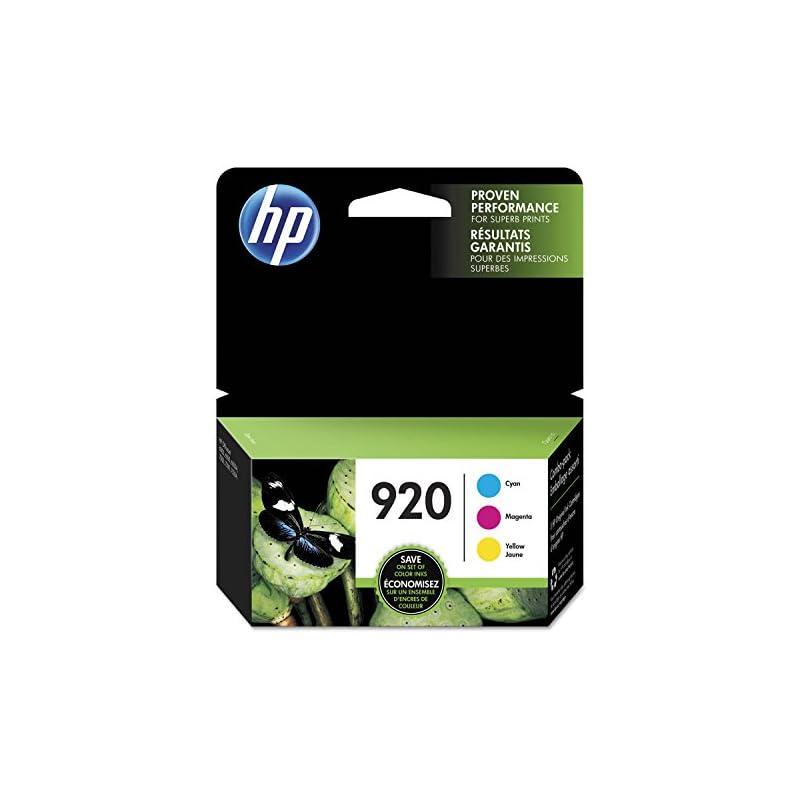 HP 920 Cyan, Magenta & Yellow Original I