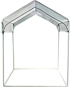 Ygo Greenhouse Hot House with Zipper Doors for Garden,Patio,Home,Backyard (Color : A, Size : 130150cm/51.2