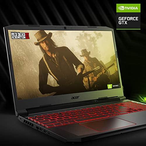 Acer Nitro 5 Gaming Laptop, 10th Gen Intel Core i5-10300H,NVIDIA GeForce GTX 1650 Ti, 15.6″ Full HD IPS 144Hz Display, 8GB DDR4,256GB NVMe SSD,WiFi 6, DTS X Ultra,Backlit Keyboard,AN515-55-59KS 51ykki9PxIL