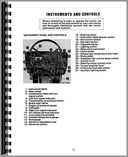 International Harvester 3588 Tractor Operators Manual