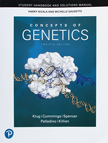 R.e.a.d Student Handbook and Solutions Manual for Concepts of Genetics<br />K.I.N.D.L.E