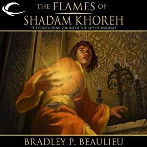 The Flames of Shadam Khoreh Audiobook